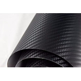 Adesivo Envelopamento Vinil Fibra De Carbono 3d 3,5mx1,22