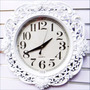 Reloj De Pared Rosas Antiguo Pasta Decorativo Diseño Hermoso