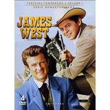 Box Dvd: James West - 3ª Temporada Vol 1 - Original Lacrado