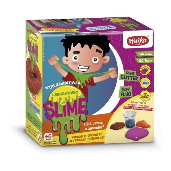 Slime En Casa Fluo Y Glitter