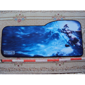 Mousepad Gamer Exclusivo - 730x330x3mm Em Borracha Natural