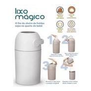 Lixo Magico Lixeira Com Sistema Anti Odor Garantem Ainda Mai