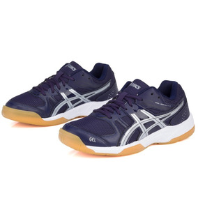 Zapatillas Asics Gel Rocket 6 Basquet Handball Badminton !!