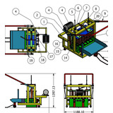 Planos Maquina Fabricadora De Bloques 10 Y 12 Cm