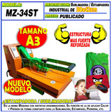 Estampadora Sublimadora Plancha Prensa A3 30x42cm Moritzu