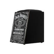 Cajon Acústico Elétrico Inclinado E Estofado Jack Daniels