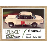 Fiat 1500 Cuadros Posters Carteles Publicidades L247