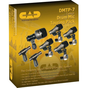 Kit De Microfones Para Bateria Cad Dmtp-7 7 Peças