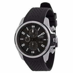 Reloj Citizen Eco-drive Wr100 Extensible Caucho Envio Gratis