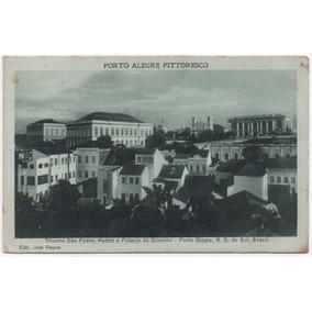 Antigo Cartão Postal De Porto Alegre - Rs
