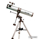 Telescopio Galileo 900x114 Reflector Astronómico Nuevo +soft