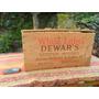 Linda Antigua Caja Madera Whisky White Label Dewar