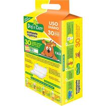 Tapete Higiênico Dogs 80x60 Bio Para Uso Diário Pct Com 30