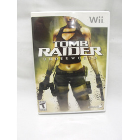 Jogo Tomb Raider Underworld Wii Original