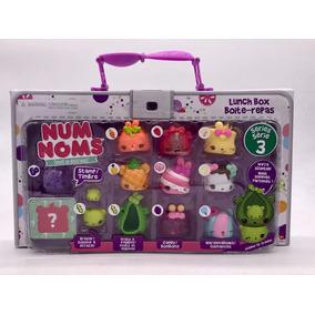 Novo Num Noms Lunch Box Serie 3 Maleta Com 13 Original Mga