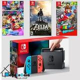 Nintendo Switch 32gb Paquete 3 Juegos* Super Promocion*