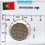 Monedas Mundo Portugal 2$5 Escudos 1974 P2