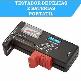 Testador Medidor Teste De Pilhas Baterias + Frete Gratis