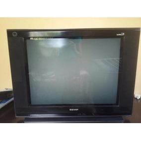 Tv Semp Ultra Slim 21preta