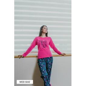 Pijama Dama Juvenil Algodón Paris Manga Larga Pantalon