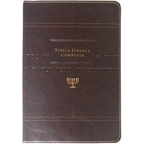 Bíblia Judaica Completa Marrom Editora Vida
