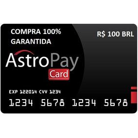 Cartão Astropay Pré-pago Bet365 Brl100