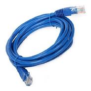 Patchcord Utp Cat 6 De 6mts Color Azul Lszh
