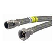 Flexible Gas Natural Extensible 1/2  40 80cm Queinox Peirano