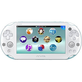 Ps Vita Light Blue/white (japan Import)