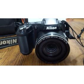 Nikon L810 De 16.1 Mpx Y Zoom Optico De 26x C/accesorios