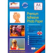 Papel Adhesivo Glossy A4 135 Grs 200 Hojas