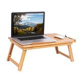 Sofia + Sam Laptop Lap Bandeja Con Patas Ajustables | Bambú