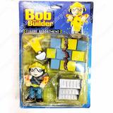 Bob El Constructor Figuras Muñecos Con Accesorios 3 Modelos