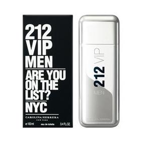 Perfume 212 Vip Men -- Carolina Herrera -- 100ml