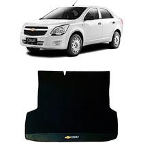 Tapete Chevrolet Cobalt Porta Malas Borracha - Preto