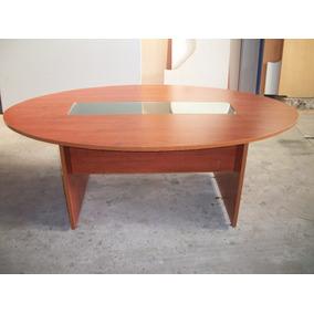 Mesa Ovalada Para Reuniones - Muebles para Oficinas en Mercado Libre ...
