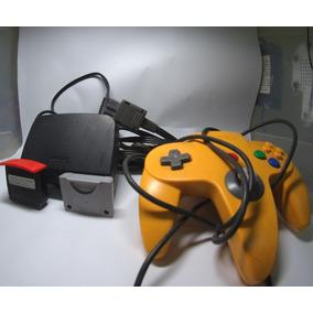 Nintendo 64 Completo Controle+expansion Pak+fonte+cabo Av