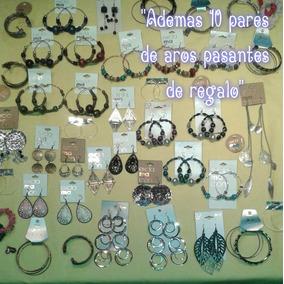 Bijouterie X 20 Unidad Precio X Mayor Aros Pulseras Collar
