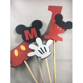 Toppers Centros De Mesa Minnie Mickey Unicornios Paw Patrol