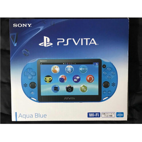 Playstation Ps Vita Slim Aqua Blue (japón).