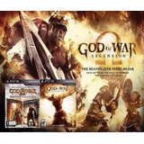 God Of War 3x1 Deus Da Guerra Midia Digital Psn Jogo Ps3