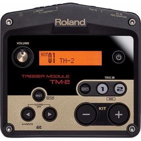 Novo Módulo Roland Trigger Tm-2 Para Bateria Eletrônica
