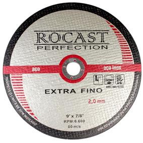 Disco De Corte Extra Fino 9 Pol. X 2,0mm-rocast-134,0005