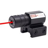 Mira Laser Vermelho Tática + Baterias - 11/22mm - Envio 24h