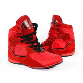 Tenis Rojos Tipo Bota Moda Gym! Pregunta Por Tu Talla