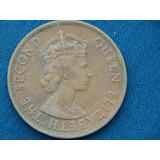Moneda De 2 Cent De British Caribbean Territories 1955