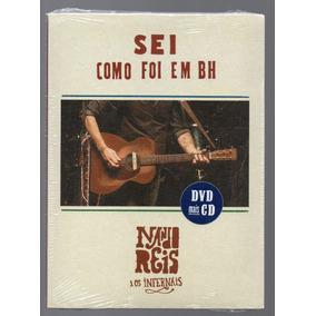 Dvd + Cd Nando Reis - Sei Como Foi Em Bh (lacrado)