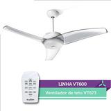 Ventilador De Teto Latina Vt673- C/ Controle - Cristal 110v