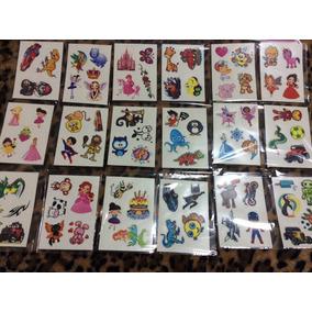 Kit 76 Desenhos Tatuagem Temporária Infantil Compre 2 Leve 3