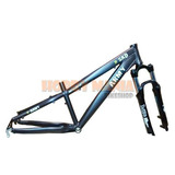 Cuadro Skinred Pro Army Horquilla Rst Dirt 26er Planet Cycle